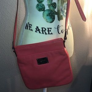 Crossbody Lauren by Ralph Lauren in Coral